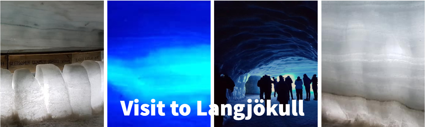 Langjokull inside journey