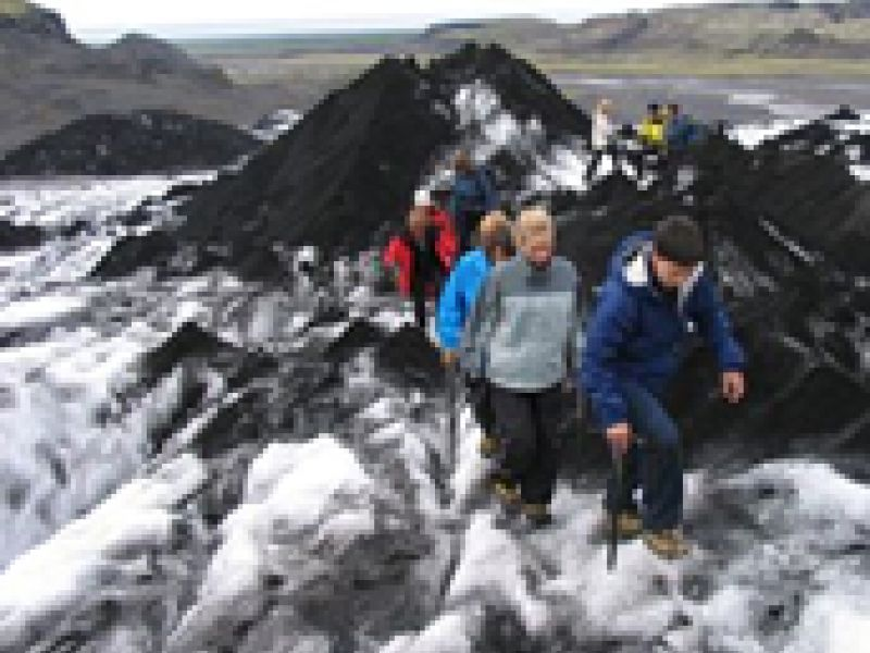 Day Tours For Groups: Glacier Walk and South Coast Iceland from Reykjavik